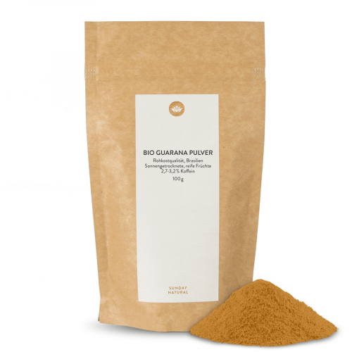 Bio Guarana Pulver Rohkost 2,7-3,2 % Koffein