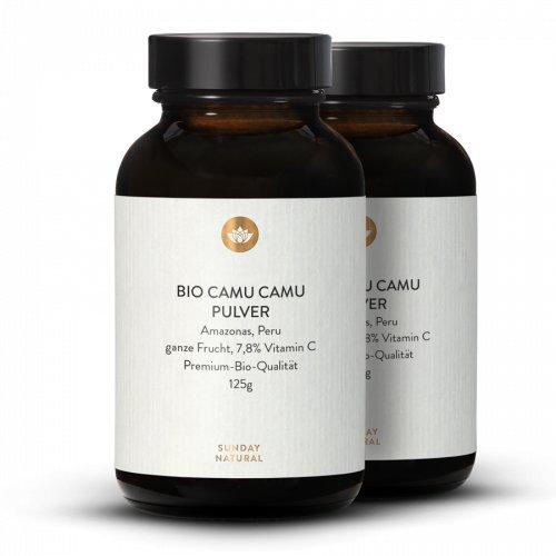 Bio Camu Camu Pulver Wild 7,8 % Vitamin C