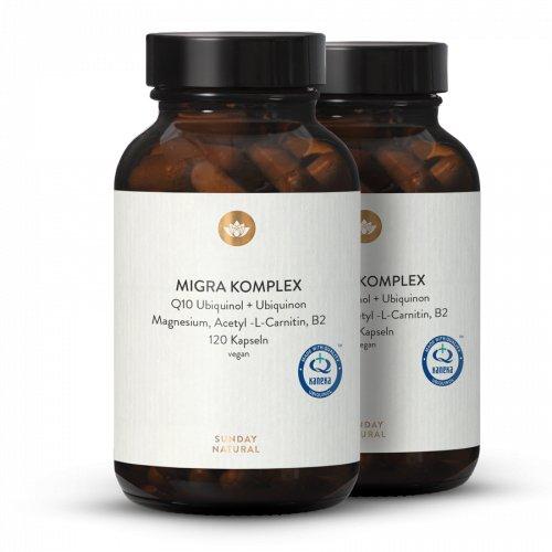 MIGRA ENERGY KOMPLEX Q10, Magnesium, B2, Acetyl-L-Carnitin