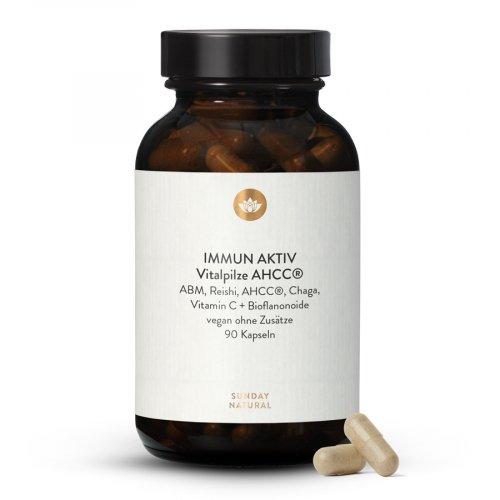 Immun Aktiv Vitalpilze + AHCC®